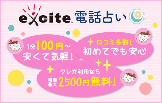 安くて初心者向けはエキサイト!!
