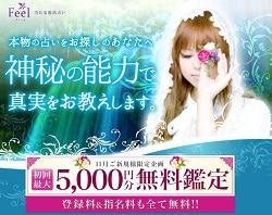 電話占いフィール5000円無料鑑定バナー