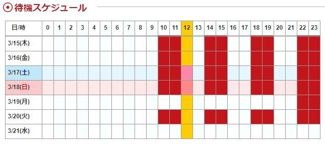 カリスの鑑定の流れ-予約日時を指定する方法
